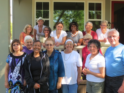 Top row left to right: Shirley Lira, Wendy Manfredonia, Amy Schmidt, Molly Collins, Janith Norman, Tom Surh and Susan Whitesell. Bottom row: Jenan Afaneh, Trudy King, Madalene Turner, Sandi Jardine, Beverly Ohanesian, Joan Quan, Rachel Barrows and Andrew Barrows.